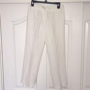 Petite Women's White Formal Trouser